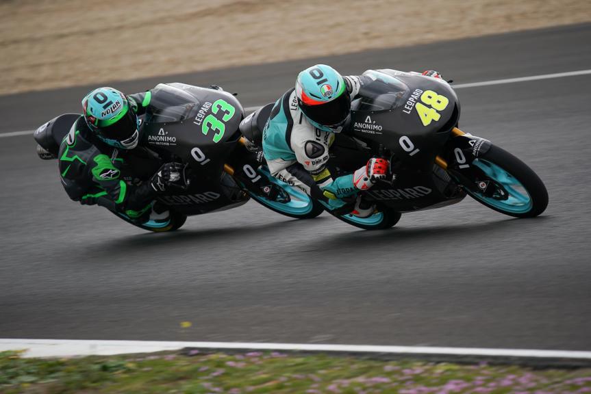 Enea bastianini, Lorenzo Dalla Porta, Leopard Racing, Jerez Moto2 &Moto3 Official Test