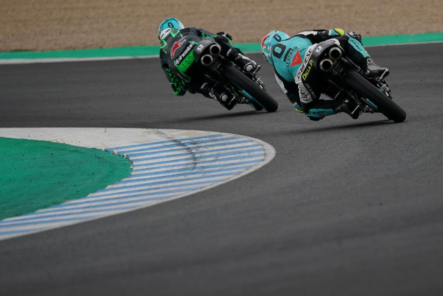 Enea bastianini, Lorenzo Dalla Porta, Leopard Racing, Jerez Moto2 & Moto3 Official Test