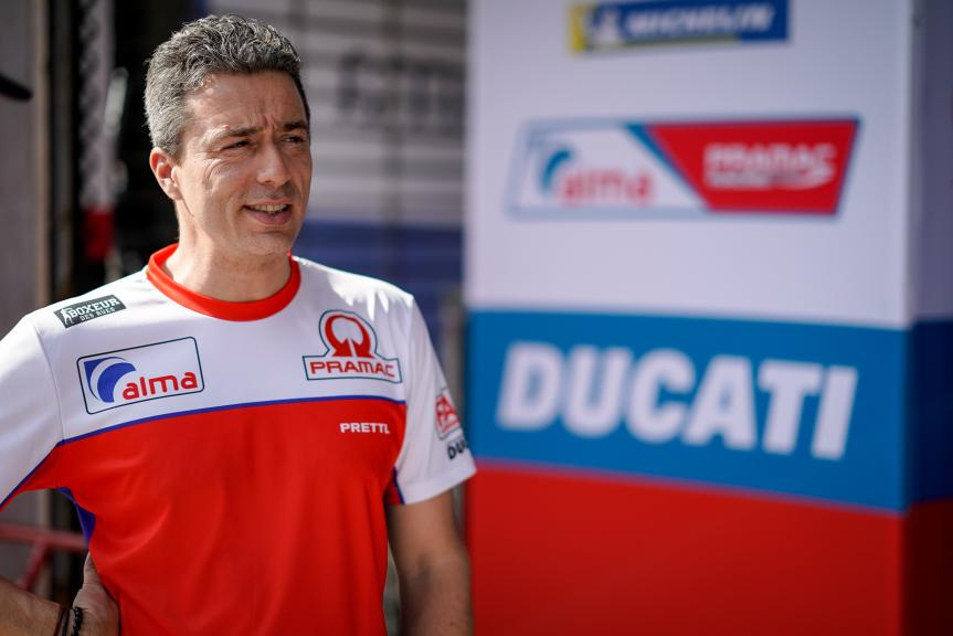 Francesco Guidotti, team manager Alma Pramac Racing