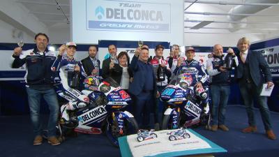 Del Conca Gresini Moto3 en présentation à Modène