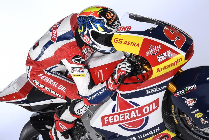 Team Federal Oil Gresini, 2018 launch