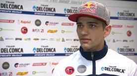 The Team Del Conca Gresini Moto3™ rider says his goal is to win races
