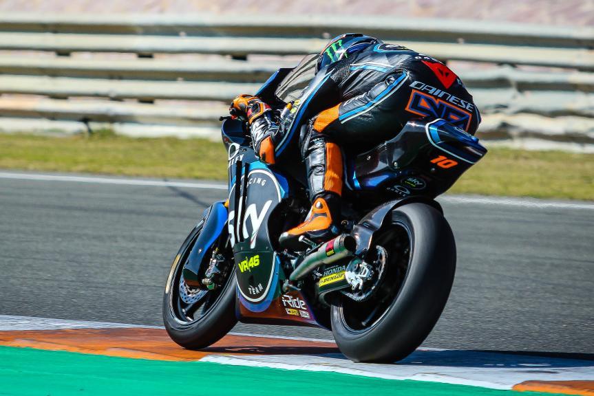 Luca Marini, Sky Racing Team VR46, Valencia Moto2 &Moto3 Private Test