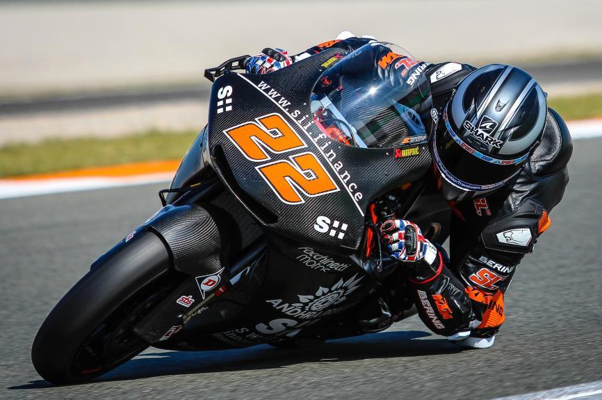 Sam Lowes, Valencia Moto2 &Moto3 Private Test