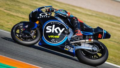 Test di Valencia, grande lavoro dello Sky Team VR46