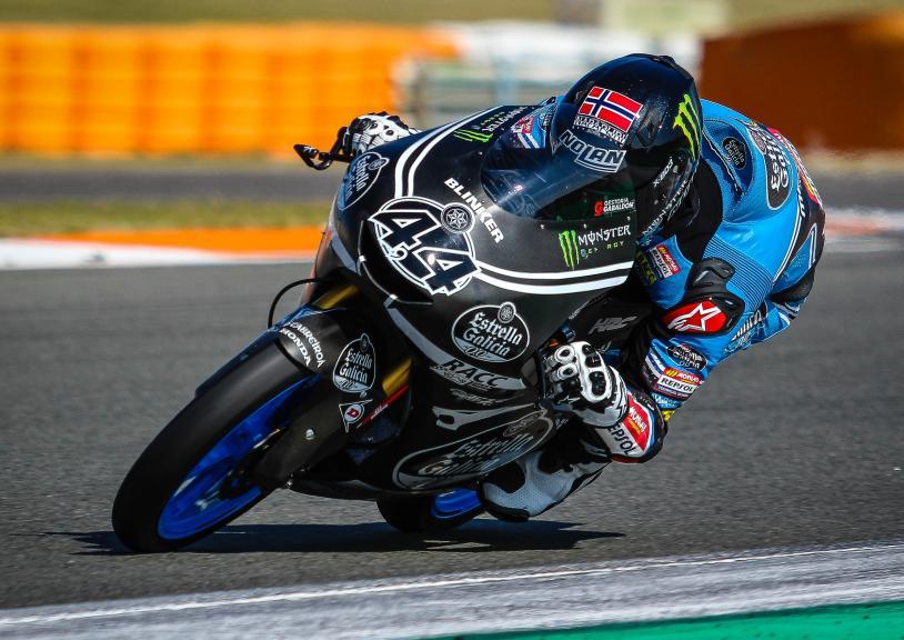 Aron Canet, Estrella Galicia 0,0, Valencia Moto2 &Moto3 Private Test