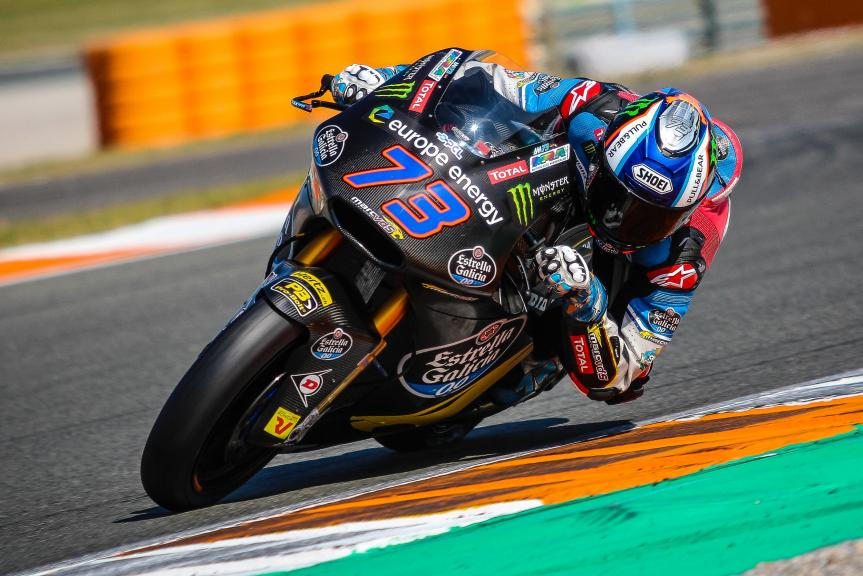 Alex Marquez, EG 0,0 Marc VDS, Valencia Moto2 & Moto3 Private Test