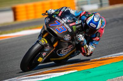 Rain stops play at Valencia Moto2™ and Moto3™ test