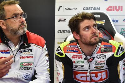 Bourguignon on Crutchlow's training ahead of 2018