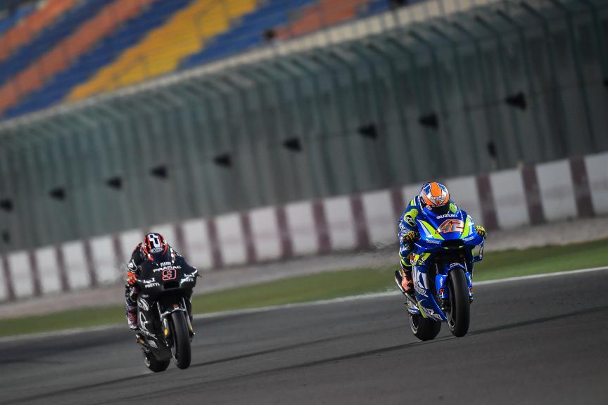 Alex Rins, Danilo Petrucci, Qatar MotoGP™ Official Test