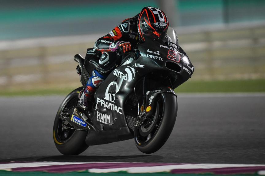 Danilo Petrucci, Alma Pramac Racing, Qatar MotoGP™ Official Test