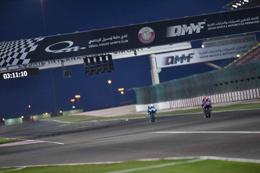 Maverick Vinales, Andrea Iannone, Qatar MotoGP™ Official Test