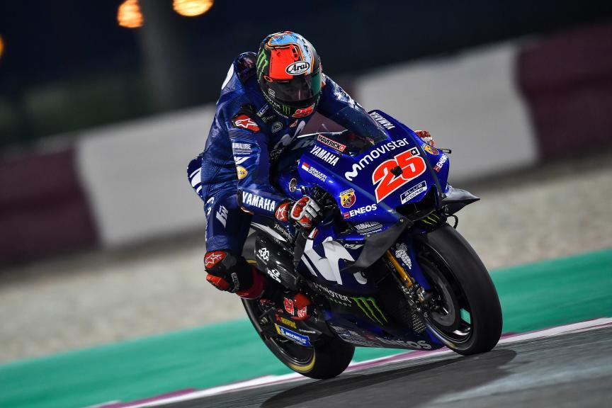 Maverick Vinales, Movistar Yamaha Motogp, Qatar MotoGP™ Official Test