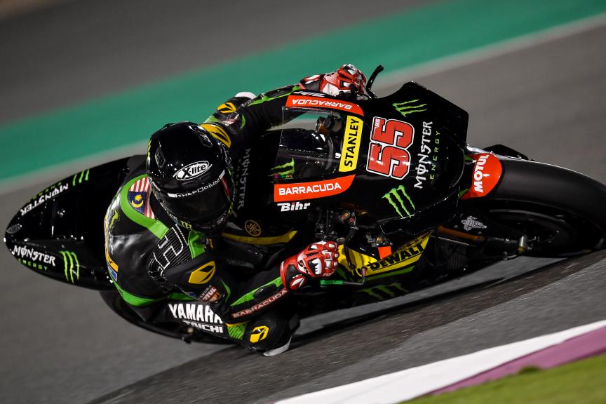 Hafizh Syahrin, Monster Yamaha Tech 3, Qatar MotoGP™ Official Test