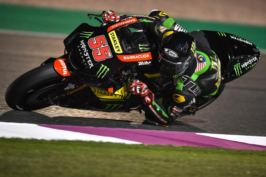Hafizh Syahrin, Monster Yamaha Tech 3, Qatar MotoGP™ Official Test