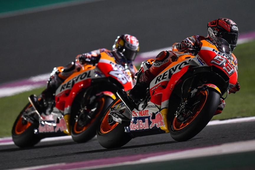 Marc Marquez, Dani Pedrosa, Repsol Honda Team, Qatar MotoGP™ Official Test