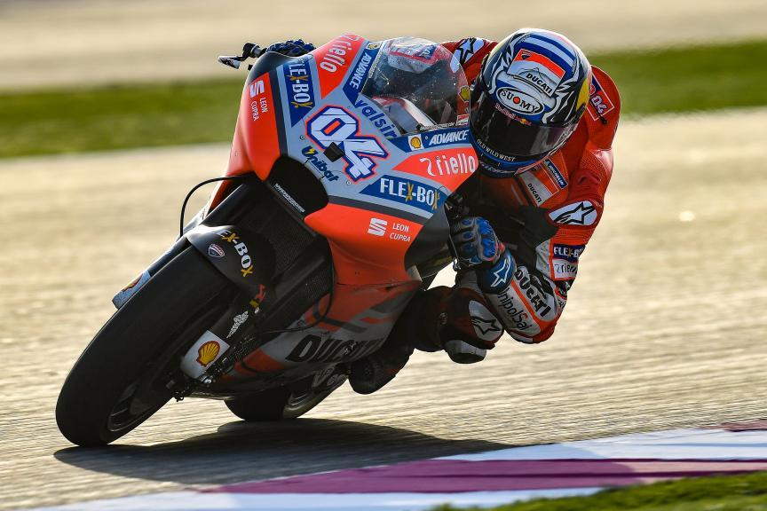 Andrea Dovizioso, Ducati Team, Qatar MotoGP™ Official Test
