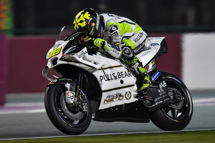 Alvaro Bautista, Angel Nieto Team, Qatar MotoGP™ Official Test
