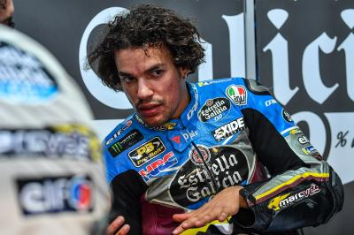 Morbidelli on the move: rookie improves on Friday