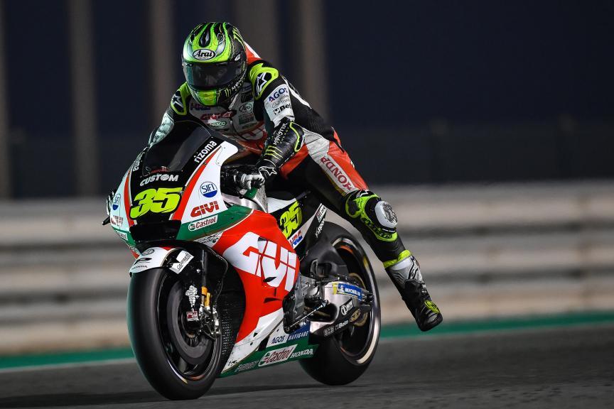Cal Crutchlow, LCR Honda Castrol, Qatar MotoGP™ Official Test