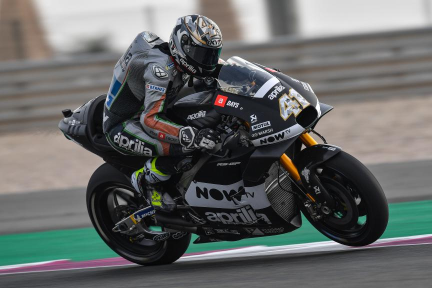 Aleix Espargaro, Aprilia Racing Team Gresini, Qatar MotoGP™ Official Test