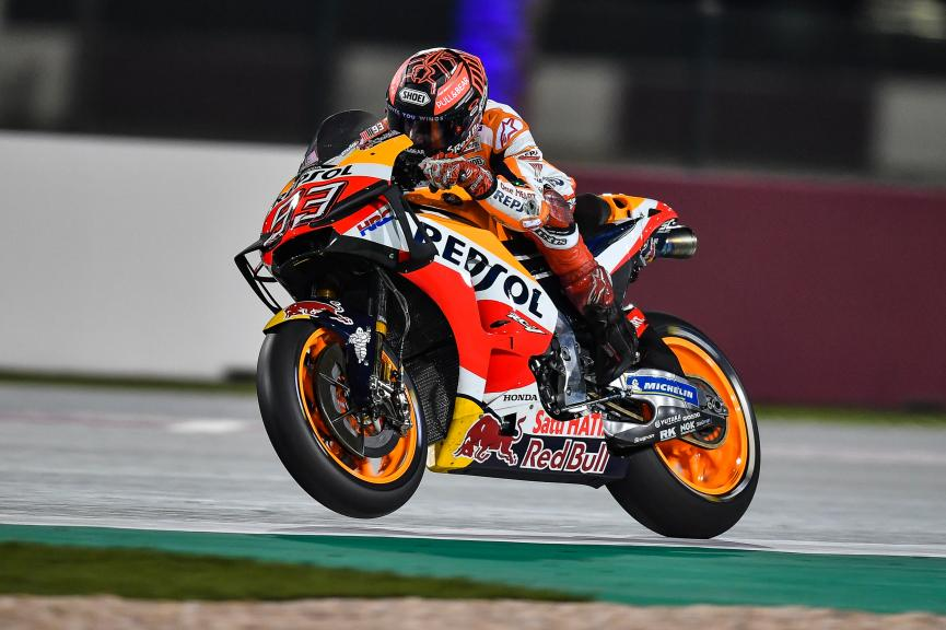 Marc Marquez, Repsol Honda Team, Qatar MotoGP™ Official Test