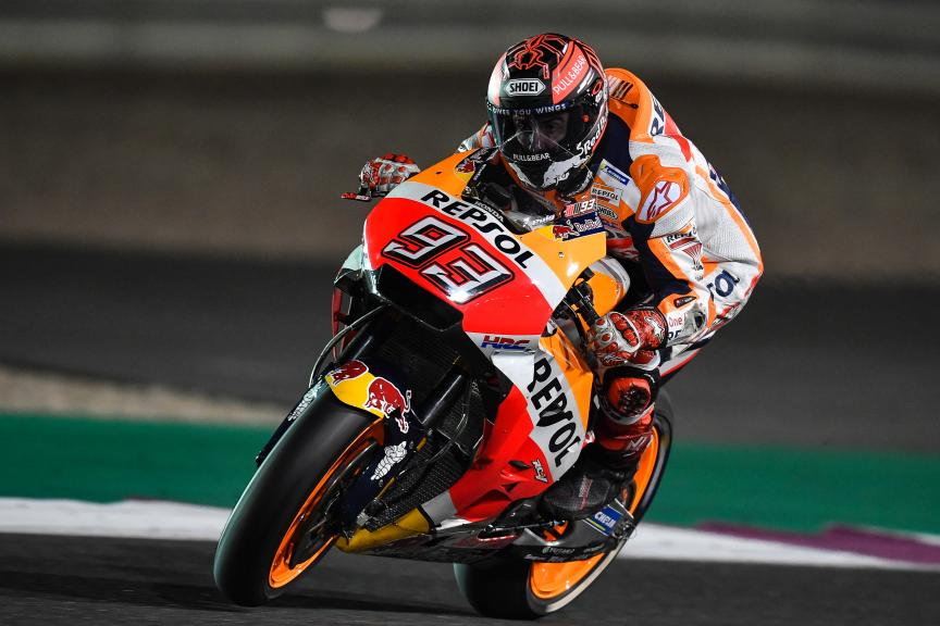 Marc Marquez, Repsol Honda Team, Qatar MotoGP™ Official Test