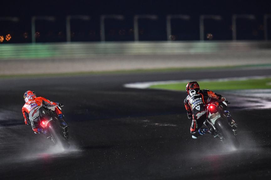 Andrea Dovizioso, Danilo Petrucci,Qatar MotoGP™ Official Test