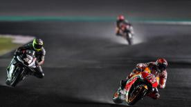 With the Losail International Circuit soaked in water, Marc Marquez found out the limits relatively quickly whilst out on track!