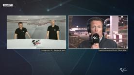 Join Steve Day, Matt Birt and Simon Crafar as they discuss the latest from the #QatarTest at the Losail International Circuit