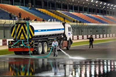 Capirossi talks wet track test at Losail