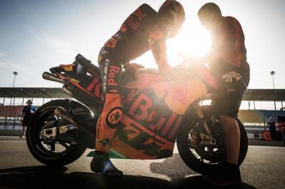 #PE44 started Day 3 @MotoGP #QatarTest