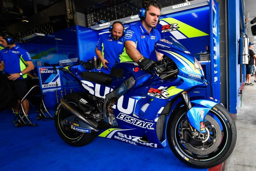 Team Suzuki Ecstar, Buriram MotoGP™ Official Test