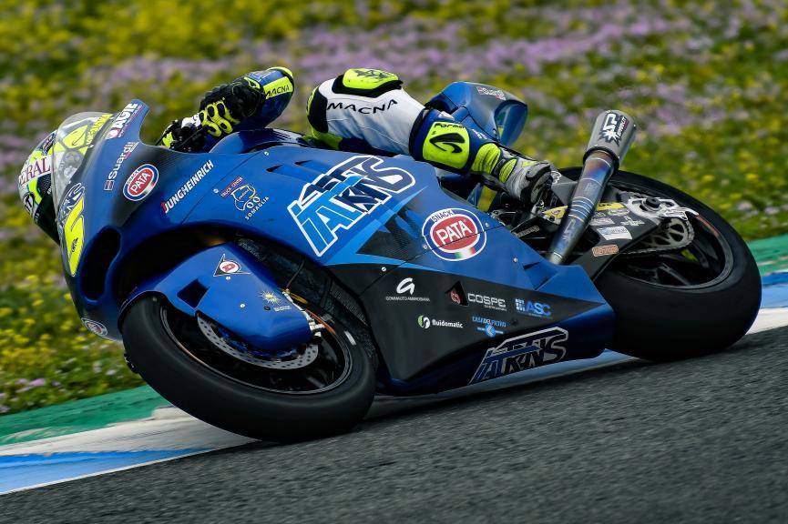 Andrea Locatelli, Italtrans Racing Team, Jerez Moto2 & Moto3 Official Test