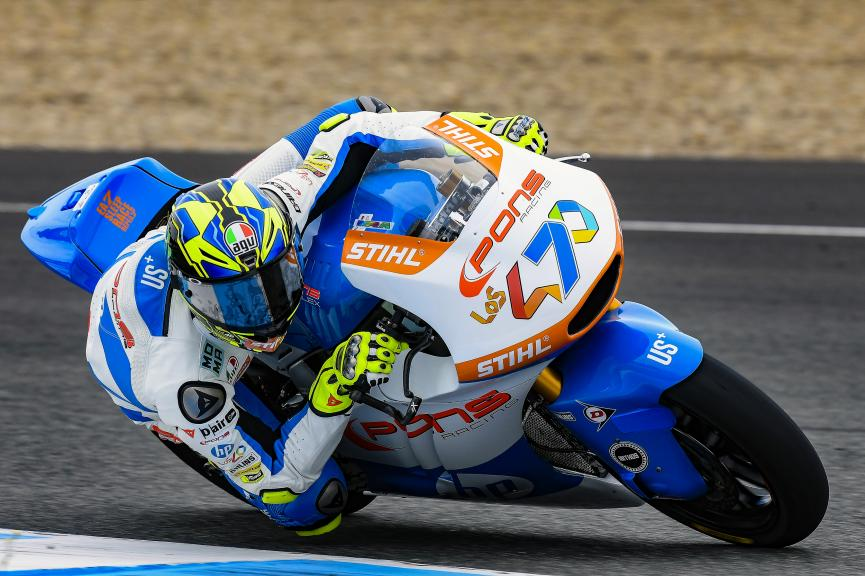 Lorenzo Baldassari, Pons Hp40, Jerez Moto2 & Moto3 Official Test