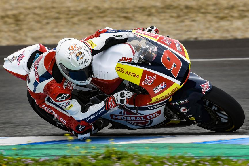 Jorge Navarro, Federal Oil Gresini Moto2, Jerez Moto2 & Moto3 Official Test