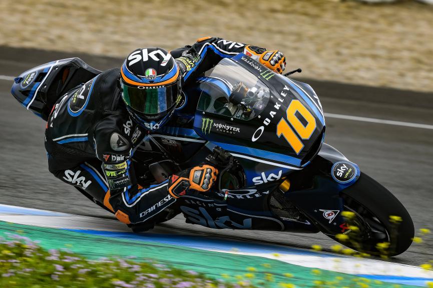 Luca Marini, Sky Racing Team VR46, Jerez Moto2 & Moto3 Official Test