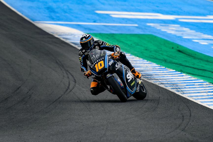 Luca Marini, Sky Racing Team VR46, Jerez Moto2 & Moto3 Official Test