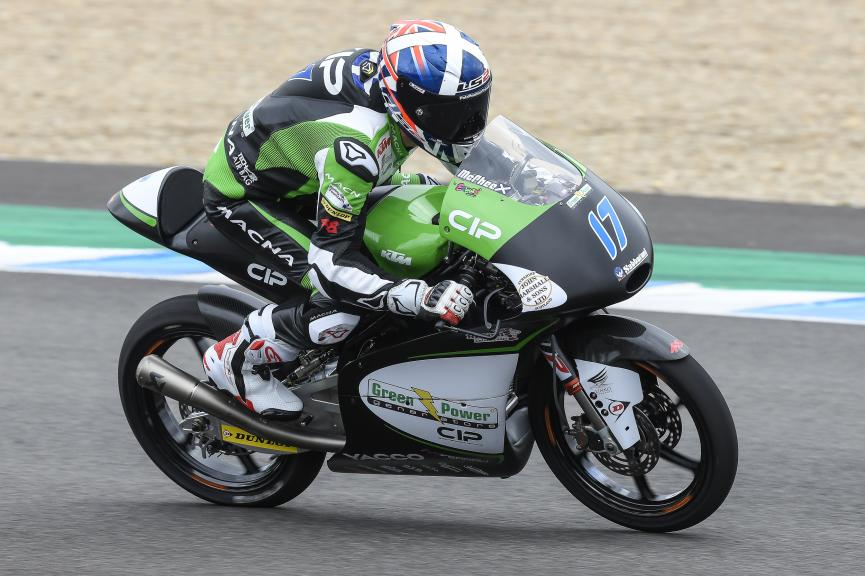 John Mcphee, CIP - Green Power, Jerez Moto2 & Moto3 Official Test