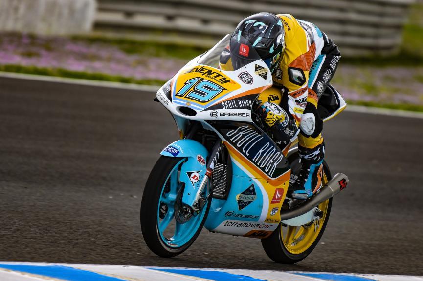 Gabriel Rodrigo, RBA Boe Skull Rider, Jerez Moto2 & Moto3 Official Test