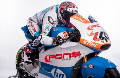 Le ambizioni del team Pons HP40