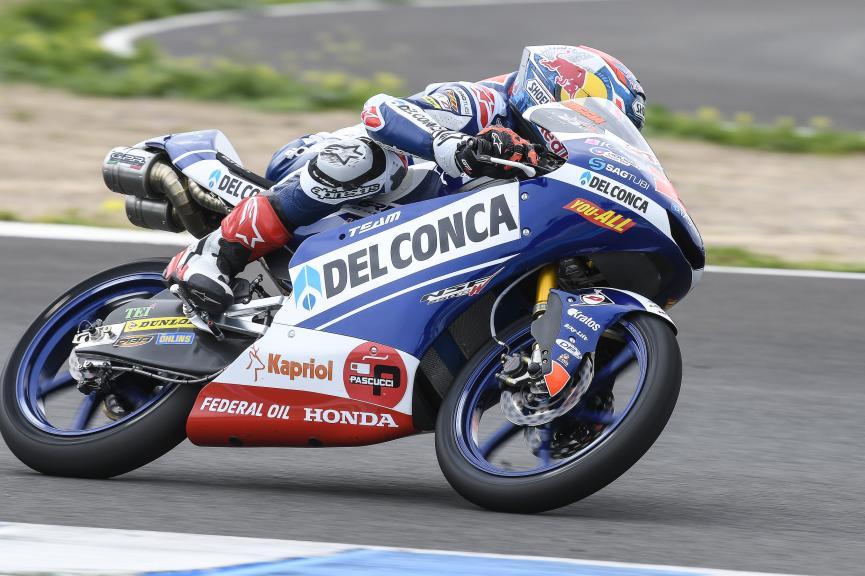 Fabio Di Giannantonio, Del Conca Gresini Moto3, Jerez Moto2 & Moto3 Official Test