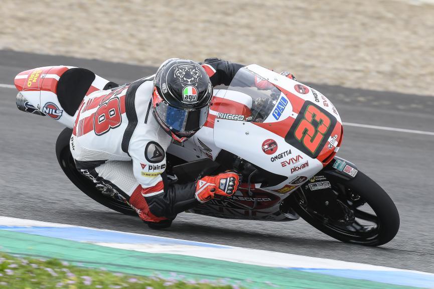 Niccolo Antonelli, SIC58 Squadra Corse, Jerez Moto2 & Moto3 Official Test