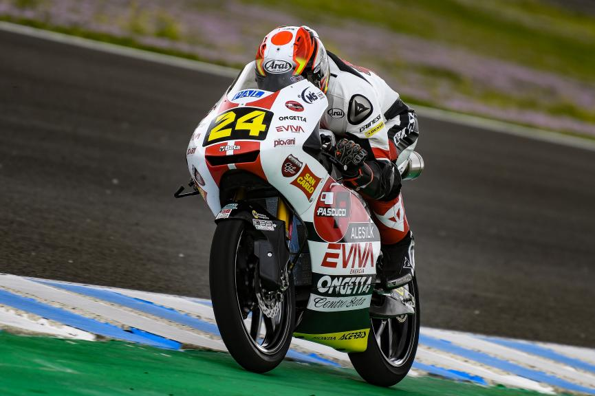 Tatsuki Suzuki, SIC58 Squadra Corse, Jerez Moto2 & Moto3 Official Test