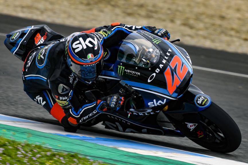 Francesco Bagnaia, Sky Racing Team VR46, Jerez Moto2 & Moto3 Official Test