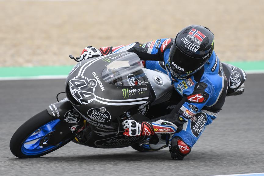 Aron Canet, Estrella Galicia 0,0, Jerez Moto2 & Moto3 Official Test