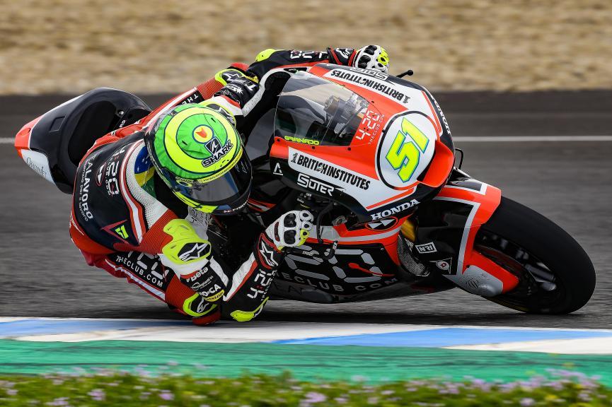 Eric Granado, Forward Racing Team, Jerez Moto2 & Moto3 Official Test