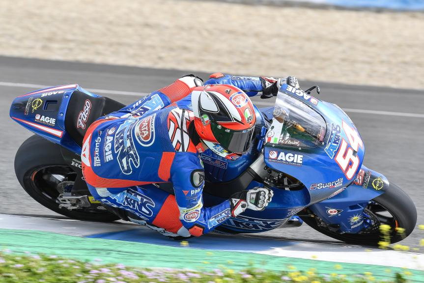 Mattia Pasini, Italtrans Racing Team, Jerez Moto2 & Moto3 Official Test