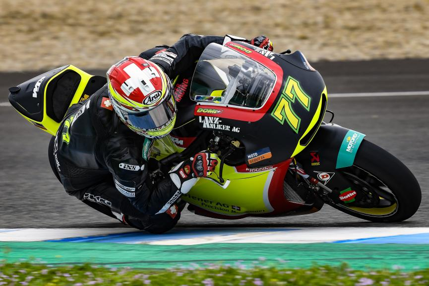 Dominique Aegerter, Kiefer Racing, Jerez Moto2 & Moto3 Official Test