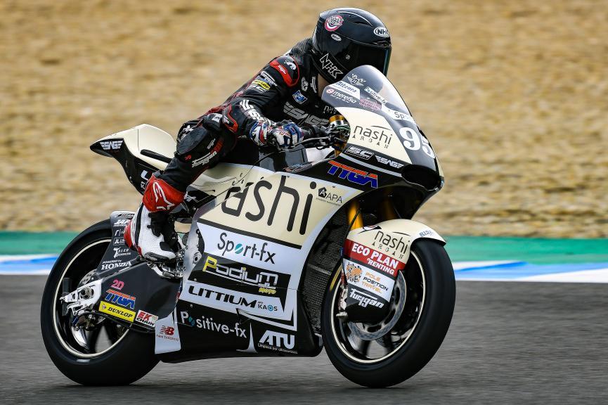 Jules Danilo, Nashi Argan Sag Team, Jerez Moto2 & Moto3 Official Test